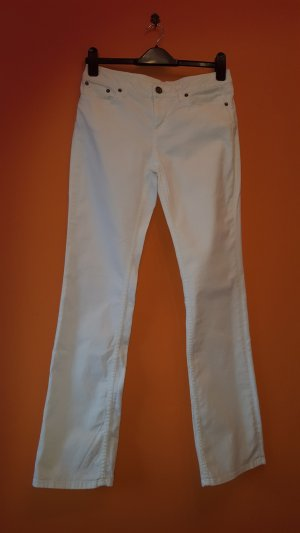Tommy Hilfiger Jeans a gamba dritta bianco Cotone