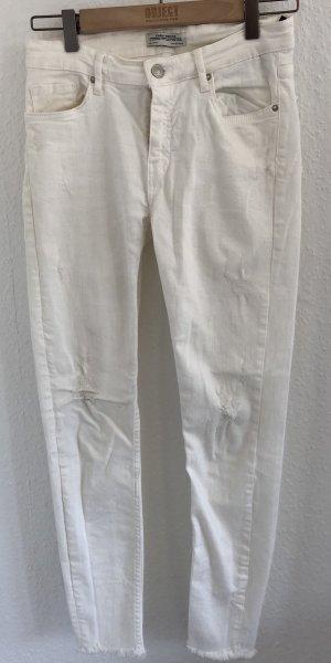 Weiße Jeans von Zara Gr. 36