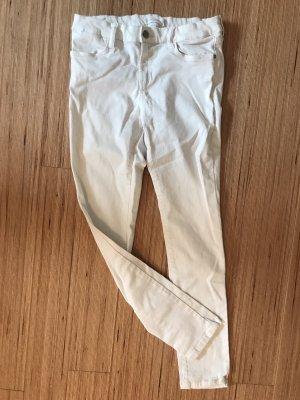 Mango Jeans cigarette blanc