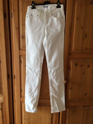 Weiße Jeanshose mit Stretch