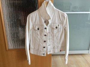 edc by Esprit Veste en jean blanc coton