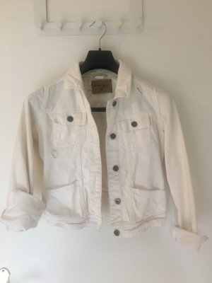 Weiße Jeansjacke von Amisu