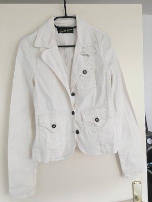 Weiße Jeansjacke von Guess