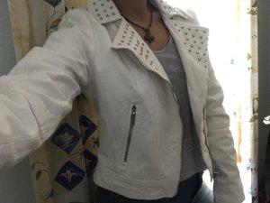 H&M Spijkerjack wit