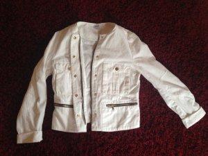 Weiße Jeansjacke von Pimkie