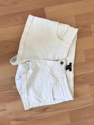 H&M Spijkershort wit