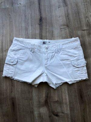 American Vintage Jupe en jeans blanc