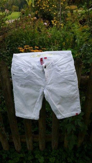 Weiße Jeansshorts von edc