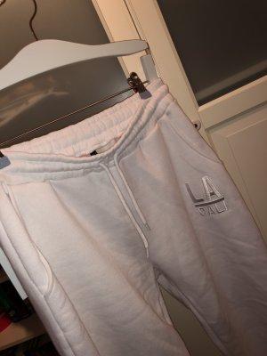 Fishbone Pantalone fitness bianco