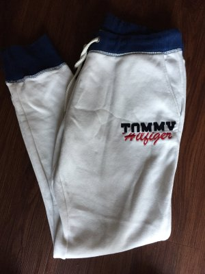 Weiße Jogginghose von Tommy Hilfiger in Größe M