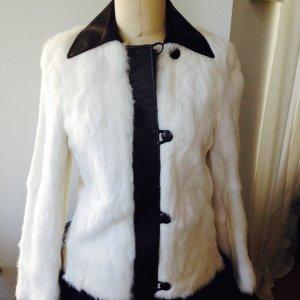 Hugo Boss Giacca di pelliccia bianco Pelliccia