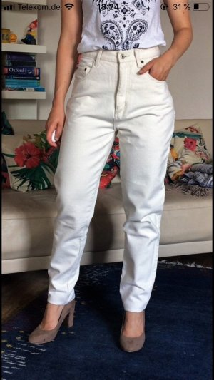 Carrot Jeans white