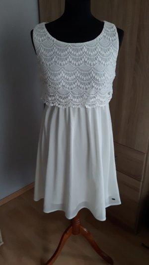 Weiße Kleid von Tom Tailor, gr M