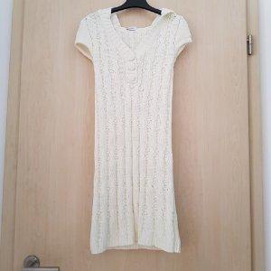 Pimkie Vestido con capucha blanco