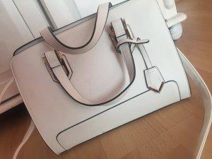 Weiße kleine Handtasche Umhängetasche