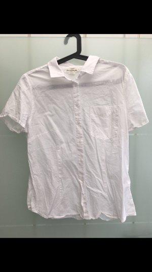 H&M Camicetta a maniche corte bianco