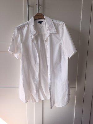 Weiße Kurzarm-Bluse :-)