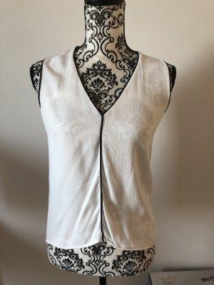 weiße kurzarm Bluse H&M