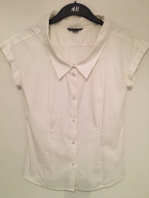 Armani Exchange Blouse met korte mouwen wit