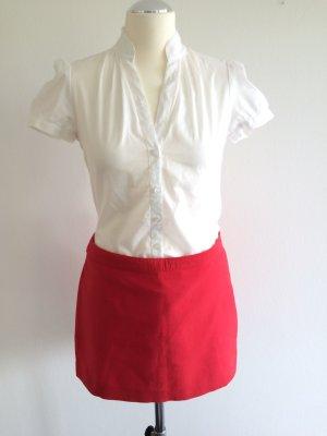 weiße Kurzarm-Bluse von ESPRIT