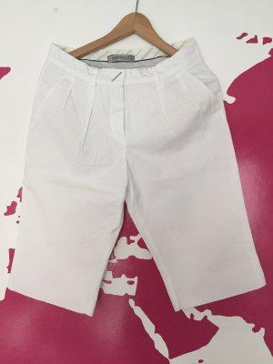 Sportmax High-Waist-Shorts white