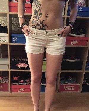 Weiße kurze Jeans Shorts H&M XS