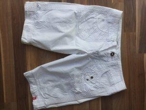 weiße, kurze Jeans von ESPRIT