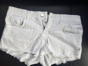 Topshop Hot Pants white cotton