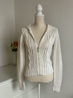 Hallhuber Cardigan white-natural white