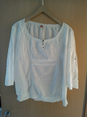 Weisse kurzem Bluse von Esprit