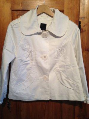 Weiße Kurzjacke von Vero Moda