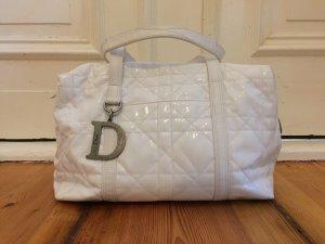 Weiße Lack Dior Tasche