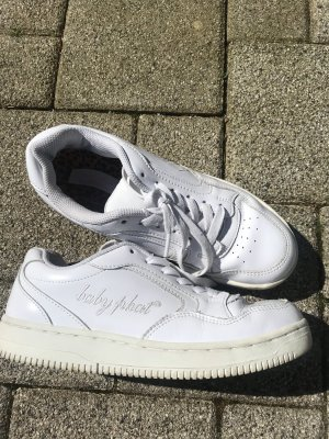 Baby Phat Lace-Up Sneaker white