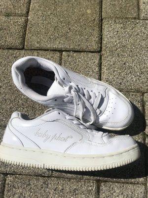 Weisse Lack- Sneaker Baby Phat