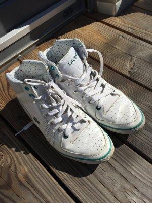weiße Lacoste Sneaker