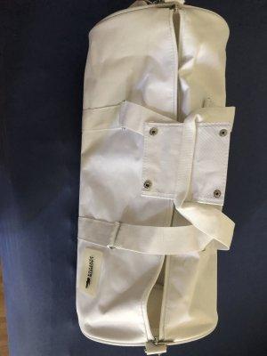 Weiße Lacoste Sporttasche/Reisetasche zu verkaufen
