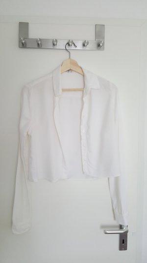 Weiße Lagarmbluse von Brandy & Melville