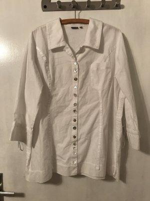 Weiße langärmelige Bluse von c.a.r.o.