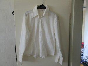 weiße Langarm-Bluse / Jake s