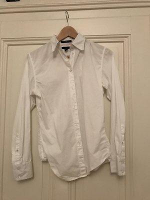 Weiße Langarm-Bluse von GAP