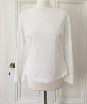 Weiße Langarmbluse von Zara Woman NEU