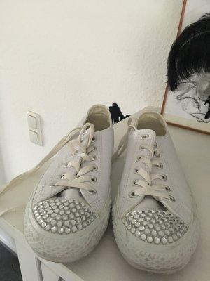 Converse Sneakers wit Leer