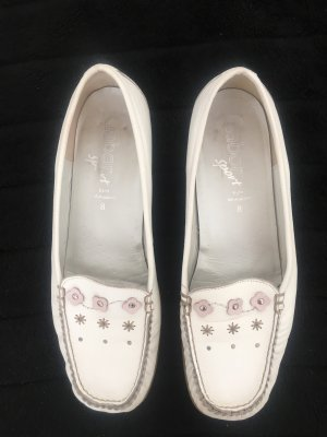 Gabor Sport Moccasins white leather