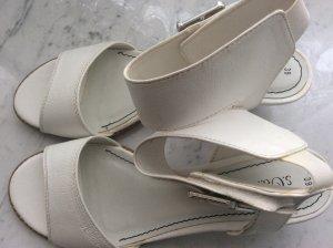 Schoenen wit Leer