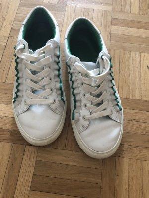 Weiße Leder Sneaker Größe 38- Tory Bruch