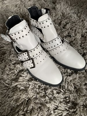 Topshop Ankle Boots white