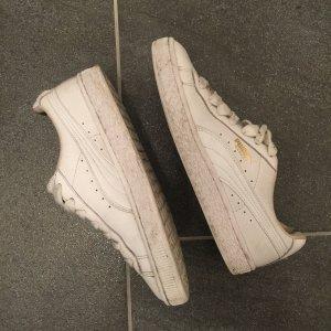 Weiße Ledersneaker - P U M A