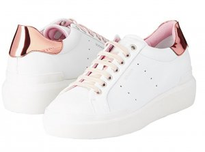 Weiße Ledersneaker von Bogner