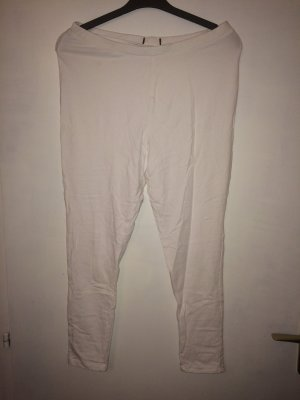 Zara Leggings blanco Poliéster