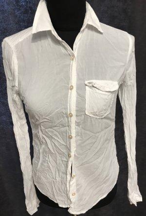 Weiße leichte Bluse von Abercrombie & Fitch Gr.S